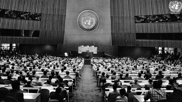 The United Nations Assembly, 1961