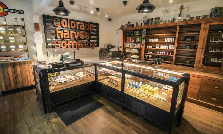 Illustrative photo of a marijuana dispensary in Colorado. The dispensary seen in the photograph has no relation to this article. (Alex Person)