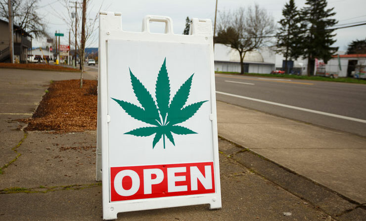 Marijuana dispensary in Oregon